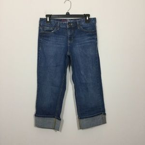 Tommy Hilfiger Spirit Girl 6 Cuffed Capri Jeans